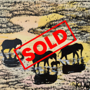 Elephants-1-Kathryn-Lawrence-The-UCAP-Store - SOLD