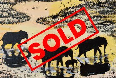 Elephants-1-Kathryn-Lawrence-The-UCAP-Store - SOLD