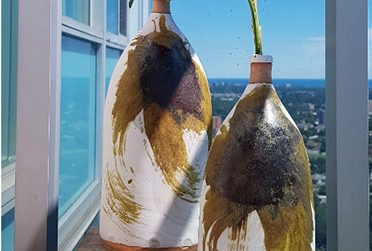Thrown Glazed Bottles - Shannon Weston - The UCAP Store (Thumbnail)